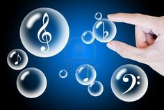 musical note in bubble - Google Search