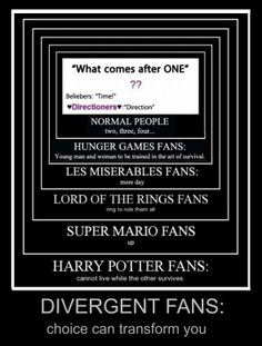 Divergent and Harry Potter!!!!