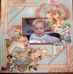 Sweet Sentiments Layout - featuring Harry Baby