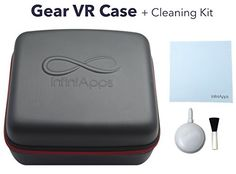 Samsung Gear VR Life Case SemiHard Compact Travel Storage Carrying Case Cover Bag by InfiniApps Compatible with ALL generations of Gear VR -- Want additional info? Click on the image.