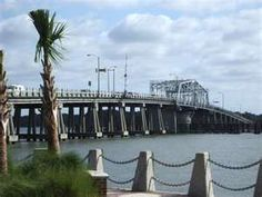 Woods Memorial bridge in Beaufort, SC