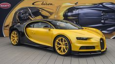 Bugatti Chiron Unwrapping the first in North America the first Customer Chiron Car in North America is the most modern interpretation of Bugatti's brand DNA Bugatti Cars, Delivery Photos, Super Sport Cars, Super Car, Volkswagen Group, Pebble Beach Concours, Yellow Car, Bugatti Chiron, Luxury Cars