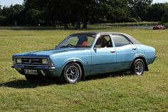 Ford Cortina Mk3 2000E I had one of these except maroon.... Then it fell off the road. :(