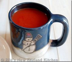 Simple Tomato Soup (Campbell's Copycat) @ Elle's New England Kitchen