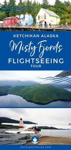 The Best Excursion in Ketchikan, Alaska | There are so many things to do and excursions in the cruise port of Ketchikan, but here we tell you about one of our favorites, the Misty Fjords Flightseeing Tour. This adventure takes you over the impressive Misty Fjords National Monument for a unique perspective of this natural wonder. Wildlife is frequently seen. Check out our impressions and start planning your adventure today!  #MistyFjords #Ketchikan #Alaska #AlaskaVacation #CruiseVacation #DayTrip