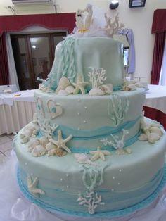 torte di compleanno tema mare - Cerca con Google