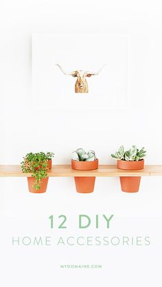 DIY your home accessories