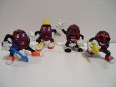 California Raisins!! I had some of these guys...think they were kid's meals toys or sumthin'