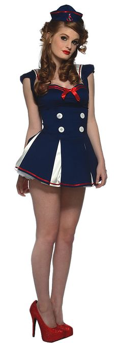 Star Spangled Sailor- Cute idea, I would just like it less slutty haha