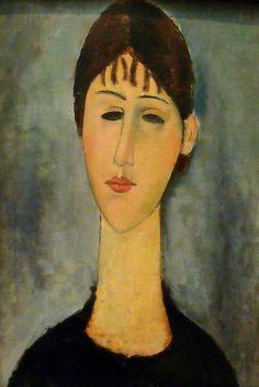 Amedeo Modigliani, Modigliani Portraits, Modigliani Paintings, Oil Paintings, Renoir, Monet, Edvard Munch, Renaissance Paintings, Italian Painters