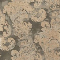 """Add an eye-catching touch to your well-appointed home with this lovely wallpaper, showcasing a paisley motif in charcoal.  Product: WallpaperConstruction Material: PaperColor: CharcoalDimensions: Pattern Repeat: 25.25"""" x 27""""Overall: 27' H x 2.25' WNote: Overall dimensions are measured in feet"""