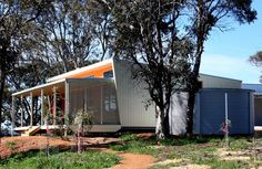 Prefab homes and modular homes in Australia: Nordic Homes Prefab Homes Australia, Kit Homes Australia, Prefab Modular Homes, Steel Sheds, Container Design, Nordic Home, Shed Homes, Exterior, House Design
