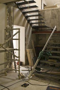 struttura scala a sbalzo, Gambetti e Rossi architetti