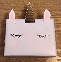 Emballage cadeau licorne !!!
