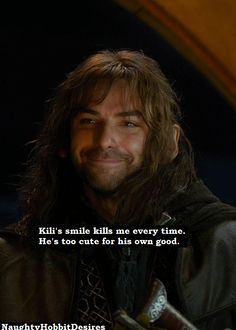 Kilis smile kills me every time. Hes too cute for his own good.