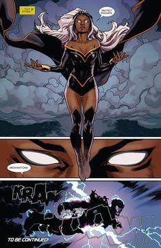 The Phoenix Will Rise Black Comics, Bd Comics, Marvel Comics Art, Comics Girls, Marvel Dc Comics, Marvel Heroes, Storm Comic, Storm Marvel, Storm Xmen