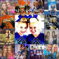 cheer athletics | cutest cheer BestFriends, peyton and jamie. (: