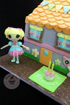 Lalaloopsy Dollhouse Cake