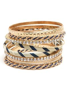 Nautical Bangle Stack