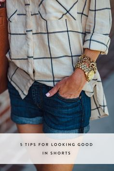 5 Tips for Looking Good in Shorts via @PureWow