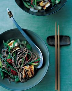 Soba and Tofu in Ginger Broth   Whole Living