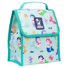Wildkin Olive Kids Mermaids Munch 'n Lunch Bag - Kids, Multicolor