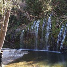 Mossbrae Falls in Dunsmuir, CA