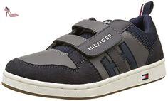Tommy Hilfiger, Gris (039 Steel Grey), 28 - Chaussures tommy hilfiger (*Partner-Link)