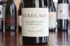 The Reverse Wine Snob: Ancient Peaks Winery Margarita Vineyard Renegade 2011 - An Unusual Blend That Tastes Unusually Good. Syrah, Petit Verdot and Malbec from Paso Robles. http://www.reversewinesnob.com/2014/06/ancient-peaks-winery-margarita-vineyard-renegade.html  #wine #winelover