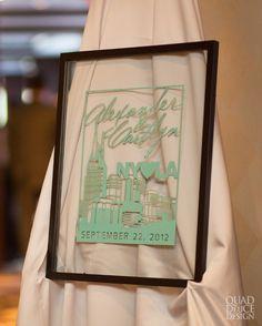 tiffany blue, modern nashville wedding invitation, wedding programs, creative, swanky nashville-style