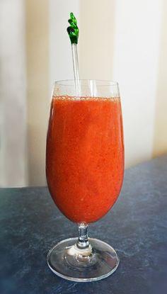 Rhubarb & Strawberry Smoothie
