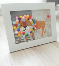 Baby Lion on your kids room! Cute Animals Picture Frames for Babies  