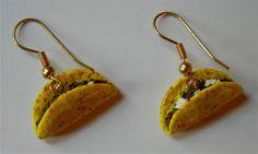 Taco Earrings by FoodyBooty