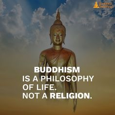Buddhism is a philosophy not a region