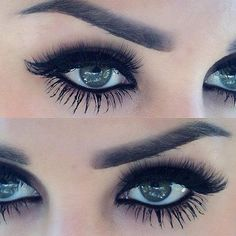 If you havn't tried fake lashes you need too they are awesome not hard to put on way less time than mascara and look 10x better