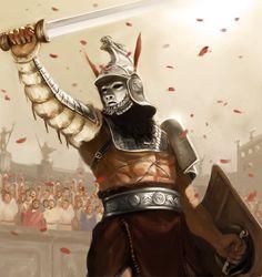 Gladiator by laclillac.deviantart.com on @DeviantArt