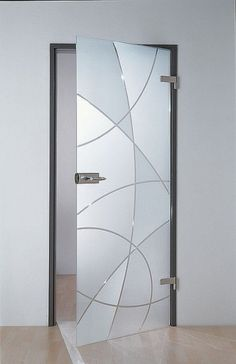 A glass door with bright or private glass is robust and available in any size and budget. The glass leaves the daylight free.
