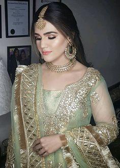 dolls shirt for women, traci lynn jewelry net, chunky gold - Bridal Wear - Bridal Mehndi Dresses, Pakistani Bridal Makeup, Pakistani Wedding Outfits, Pakistani Wedding Dresses, Nikkah Dress, Pakistani Dress Design, Bridal Outfits, Bridal Hijab, Bridal Gown