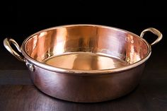 Cooking in and Caring for Copper  By kenzi   October 23, 2012 from http://www.food52.com/articles/4728_cooking_in_and_caring_for_copper#