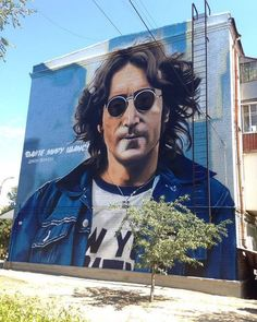 John Lennon by @andreypalval! -- Painted in #Izyum #Ukraine.