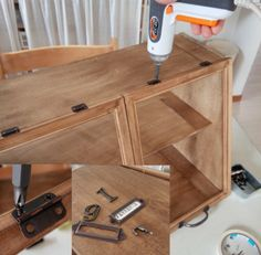 How To Have An Easy Woodworking Project When it comes to woodworking, there is a vast world to learn about. From types of wood to which tools are best, you will find that there is no end to your education. Small Woodworking Projects, Woodworking Furniture, Wood Furniture, Mini Cafe, Street Food Market, Diy Regal, Diy Holz, Kitchen Organization, Coffee Shop
