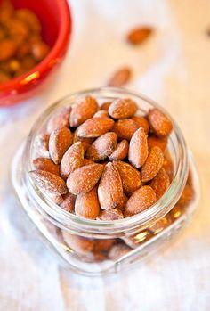 Coconut Cinnamon Sugar Roasted Almonds. Yum!!!