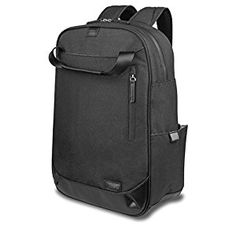 Business Laptop Backpack for man Hanmir Waterproof zipper Computer Bag, Water-resistent College School Backpack, Eco-friendly Travel Shoulder Bag for 15.6 Laptop & Notebook computer backpack Black