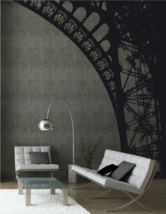 These wall decals are fantastic but so expensive! So I'm just going to paint it on myself in my next dinning room.