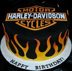 Motorbike Cake | Motorcycles and Cakes: Harley-Davidson - Part 4