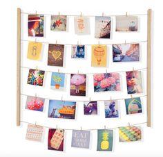Hang It Up Photo Display - Natural