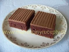 Kefírová buchta – Maminčiny recepty Czech Recipes, Kefir, Cheesecake, Food And Drink, Sweets, Baking, Czech Food, Food Cakes, Good Stocking Stuffers