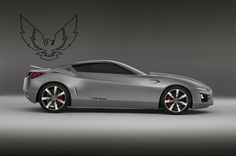 Trans Am concept.  I would so totally LOVE to have this!!  And I'd drive it like I stole it, for sure!  ;)
