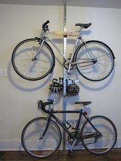 IKEA Hack: DIY Bike Storage. manmadediy.com