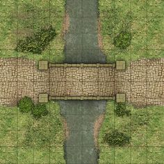 Heroic Maps - Geomorphs: Highway Features 1 - Heroic Maps | Caverns &…